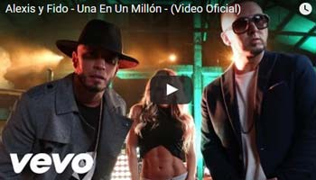 Una En Un Millon - Alexis y Fido - Video Official 2016 - Descarga.