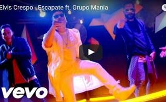 Descargar el video Escapate - Elvis Crespo ft Grupo Mania - Video Official 2016