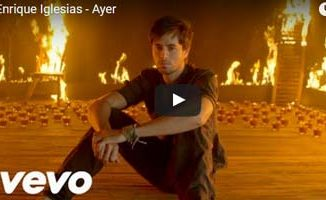 Ayer - Enrique Iglesias - Descargar Video Official