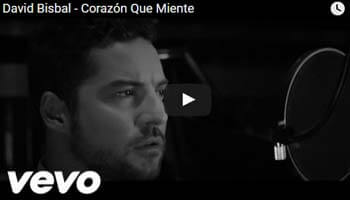 Corazon Que Miente – David Bisbal – Video Official 2016