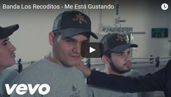 Me Esta Gustando - Banda Los Recoditos - Video Official 2016 Descargar: