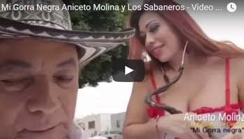 Mi Gorra Negra - Aniceto Molina y Los Sabaneros - Descargar Video Official 2016