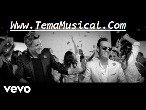 letra lyrics Deja Que Te Bese - Alejandro Sanz & Marc Anthony - Official Video Mp4 2017 tema musica descaragar download