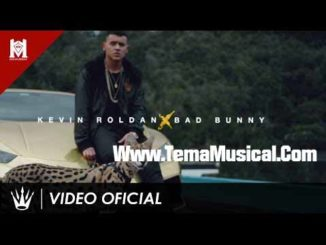 descargar letra lyrics hd mp4 Tranquilo - Kevin Roladan ft Bad Bunny - Official Music Video 2017